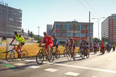 Červen: Cyklojízda Zlín v pohybu. Foto: Josef Řezníček