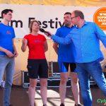 část týmu Cyklisté z radnice, DPNK 2014